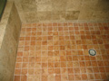 Houston Memorial bath shower floor