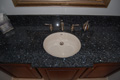 Houston Memorial granite top with undermount vanity sink