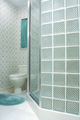 Houston Hunters Creek glass block shower