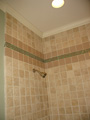 Houston Memorial shower mosaic tile