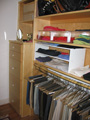 Woodmark and owner designed master closet