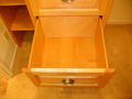Houston Memorial bath full extension cabinet drawers